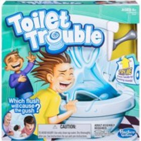 Toilet Trouble Game, for Kids and Families, Ages 4