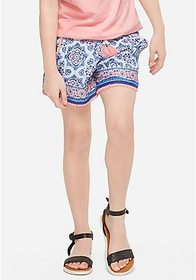 Justice Pattern Soft Shorts