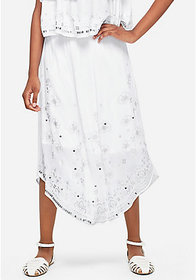 Justice Embroidered Maxi Skirt