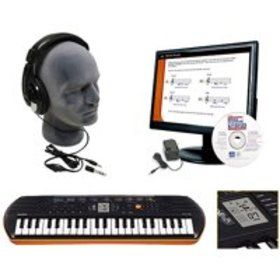 Casio SA-76 EDP Personal Keyboard Package with Clo