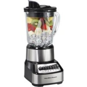 Hamilton Beach Wave Crusher 14 Speed Blender Silve