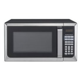 Hamilton Beach 0.9 Cu. Ft. Stainless Steel Microwa