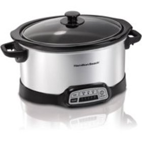 Hamilton Beach 5 Quart Programmable Slow Cooker