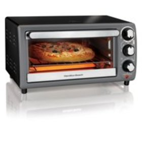 Hamilton Beach Toaster Oven In Charcoal | Model# 3