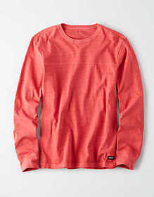 American Eagle AE Long Sleeve Football t-shirt