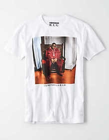 American Eagle AE The Notorious B.I.G. Graphic T-S