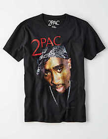 American Eagle AE 2PAC Graphic T-Shirt