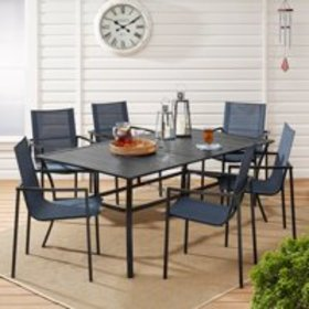Mainstays Calimesa 7-Piece Outdoor Patio Dining Se