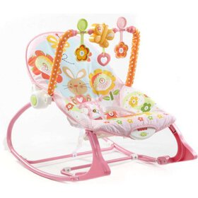 Fisher-Price Infant-To-Toddler Rocker, Pink Bunny