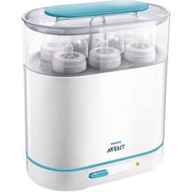 Philips Avent 3-in-1 Electric Steam Sterilizer, BP