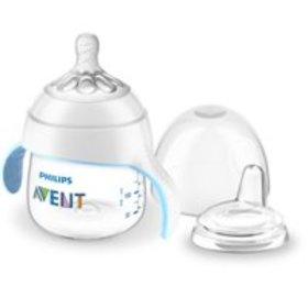 Philips Avent My Natural Trainer Sippy Cup, Clear,