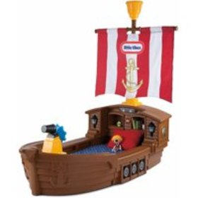 Little Tikes Pirate Ship Toddler Bed, With Storage