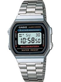 Casio Men's Classic Digital Illuminator Watch A168