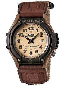 Men's Forester Analog Watch, Tan Nylon Fast-Wrap S