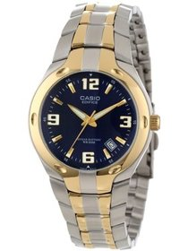 Men's Edifice 10-Year Battery Analog Watch, Two To