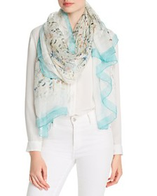 Max Mara - Beachside Printed Silk Scarf