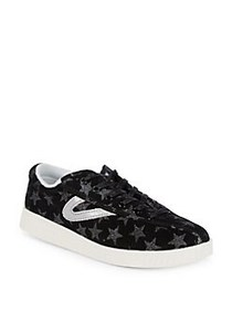 Tretorn Nylite Leather Sneakers BLACK