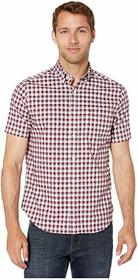 Nautica Classic Fit Wrinkle Resistant Plaid Woven