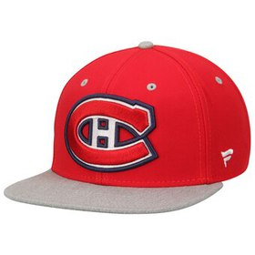 Montreal Canadiens Letterman Snapback Hat - Red