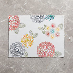 Crate Barrel Lyla Embroidered Placemat