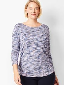 Talbots Space-Dyed Open-Back Top