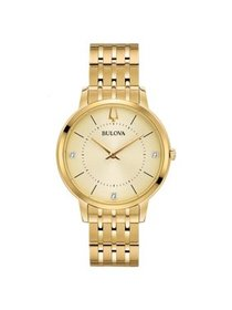 97P123 Women's Classic Champagne Dial Yellow Gold