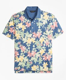 Brooks Brothers Slim Fit Interlock Tropical Print