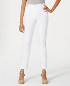 JM Collection Embellished Pull-On Pants, Created f