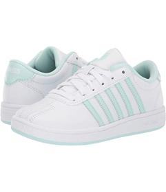 K-Swiss White/Soothing Sea