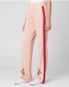 Juicy Couture Embroidered Floral Tricot Pant