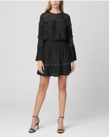 Juicy Couture Studded Drapey Flirty Dress