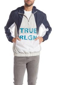 True Religion Dagger Half Zip Jacket