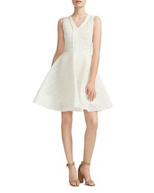 Maje - Reinette Fit-and-Flare Dress
