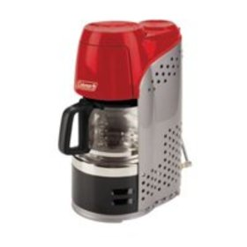 Coleman QuikPot Portable Propane Coffee Maker, Red