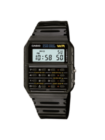 Classic Calculator and Calendar Watch