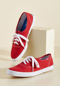 Keds Keds It's Been Too Longboard Sneaker in Red R