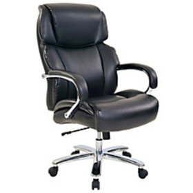 Realspace Brevington Bonded Leather High Back