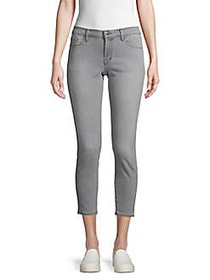 J Brand Skinny Low-Rise Cropped Stretch Jeans RESO