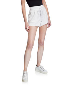 Betsey Johnson Distressed French Terry Shorts