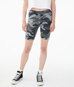 Aeropostale Camo Lounge Bike Shorts