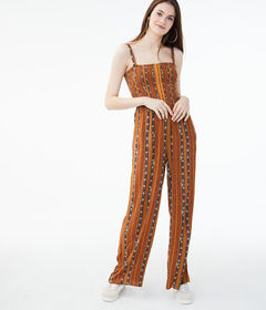 Aeropostale Patterned Stripe Jumpsuit
