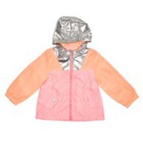 OSHKOSH Baby Girls Colorblock Windbreaker with Hoo