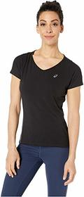 ASICS Short Sleeve V-Neck Top