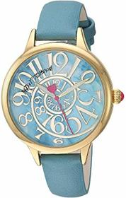 Betsey Johnson Optical Swirl Marble Dial & Strap W