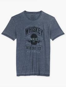 Lucky Brand Whiskey Made Me Do It Tee