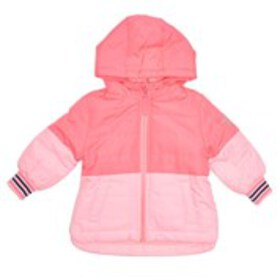 OSHKOSH Baby Girls Pink Colorblock Jacket (12-24m)