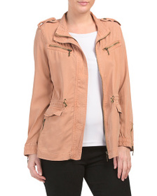 MAX JEANS Utility Jacket