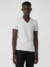 Burberry Cotton Jersey T-shirt in White