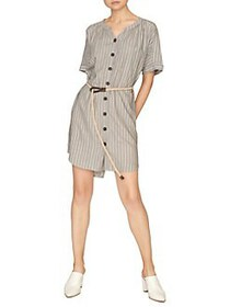Sanctuary Ellis Shirt Dress ECO STRIPE
