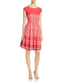 NIC and ZOE - Garden Party Printed Sweater Dress